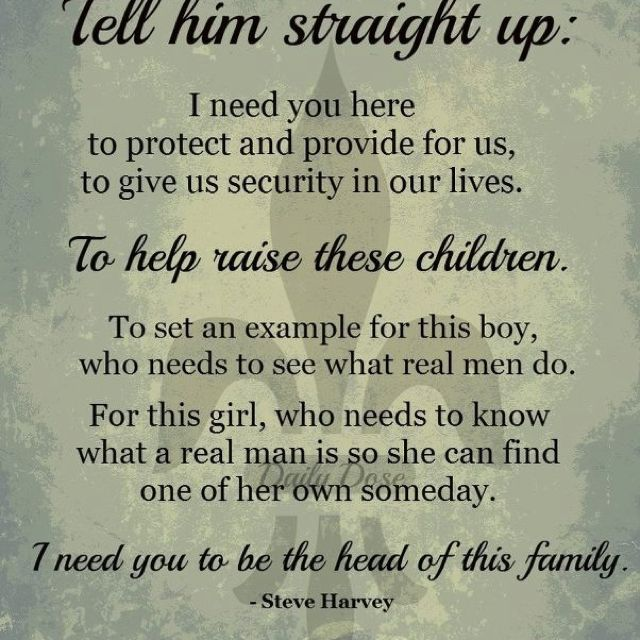 Dads- behind every good dad is a good women who lets him ...