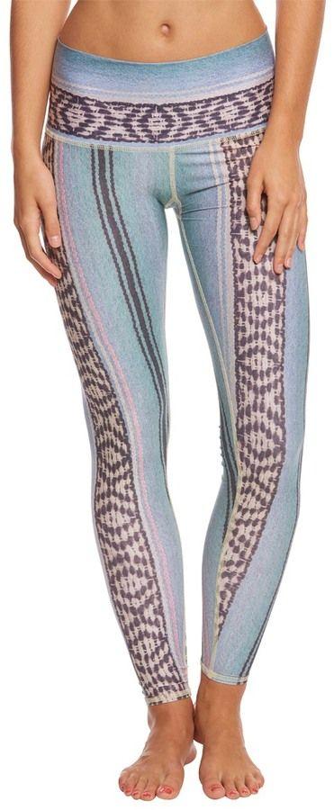 1321026055 Teeki Blue Border Town Hot Yoga Pants 8165241 | Products | Yoga ...