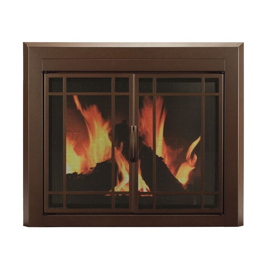 Pleasant Hearth Enfield Burnished Bronze Large Cabinet Style