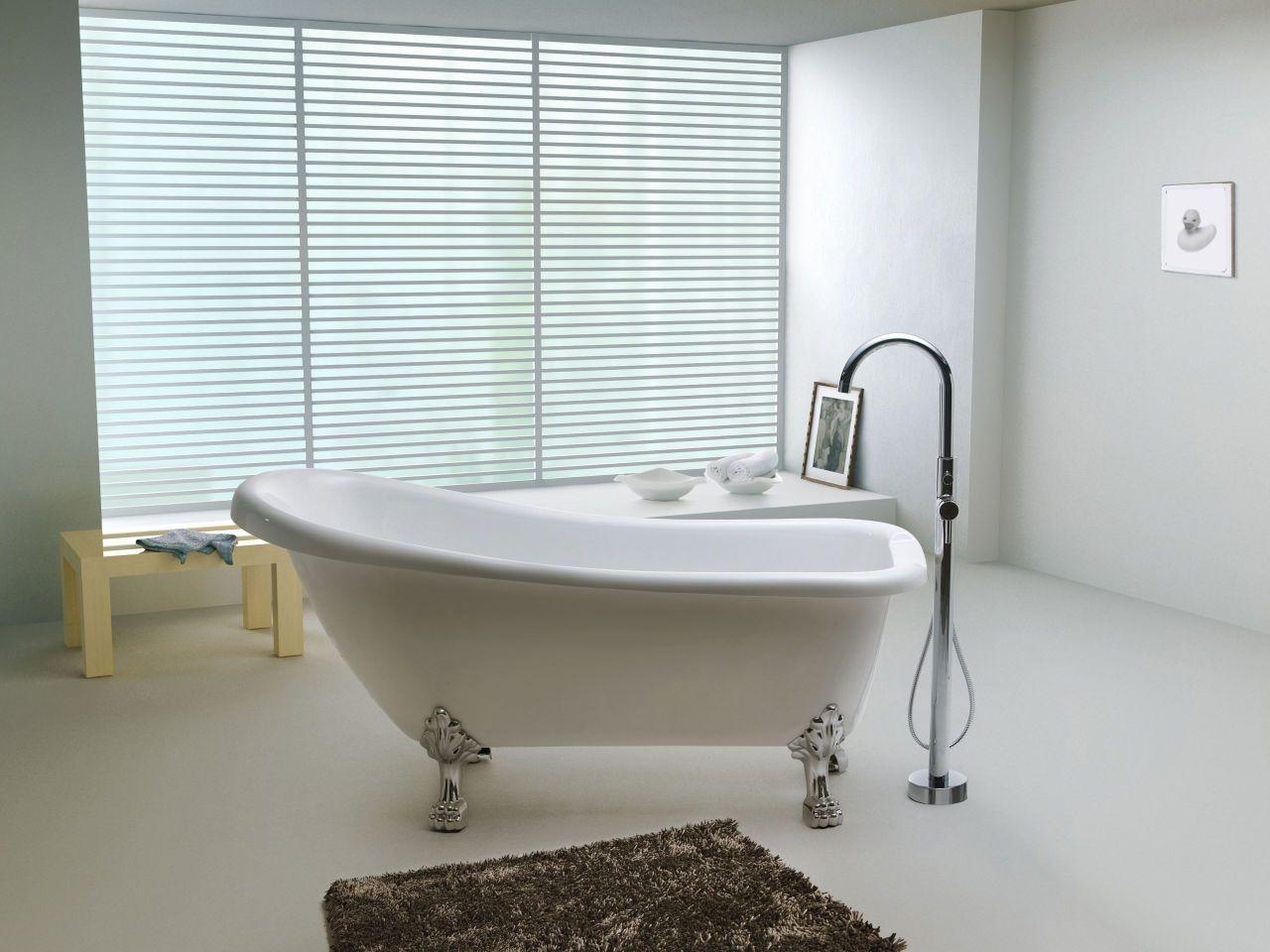 Een losstaande badkuip super mooi in je badkamer woon