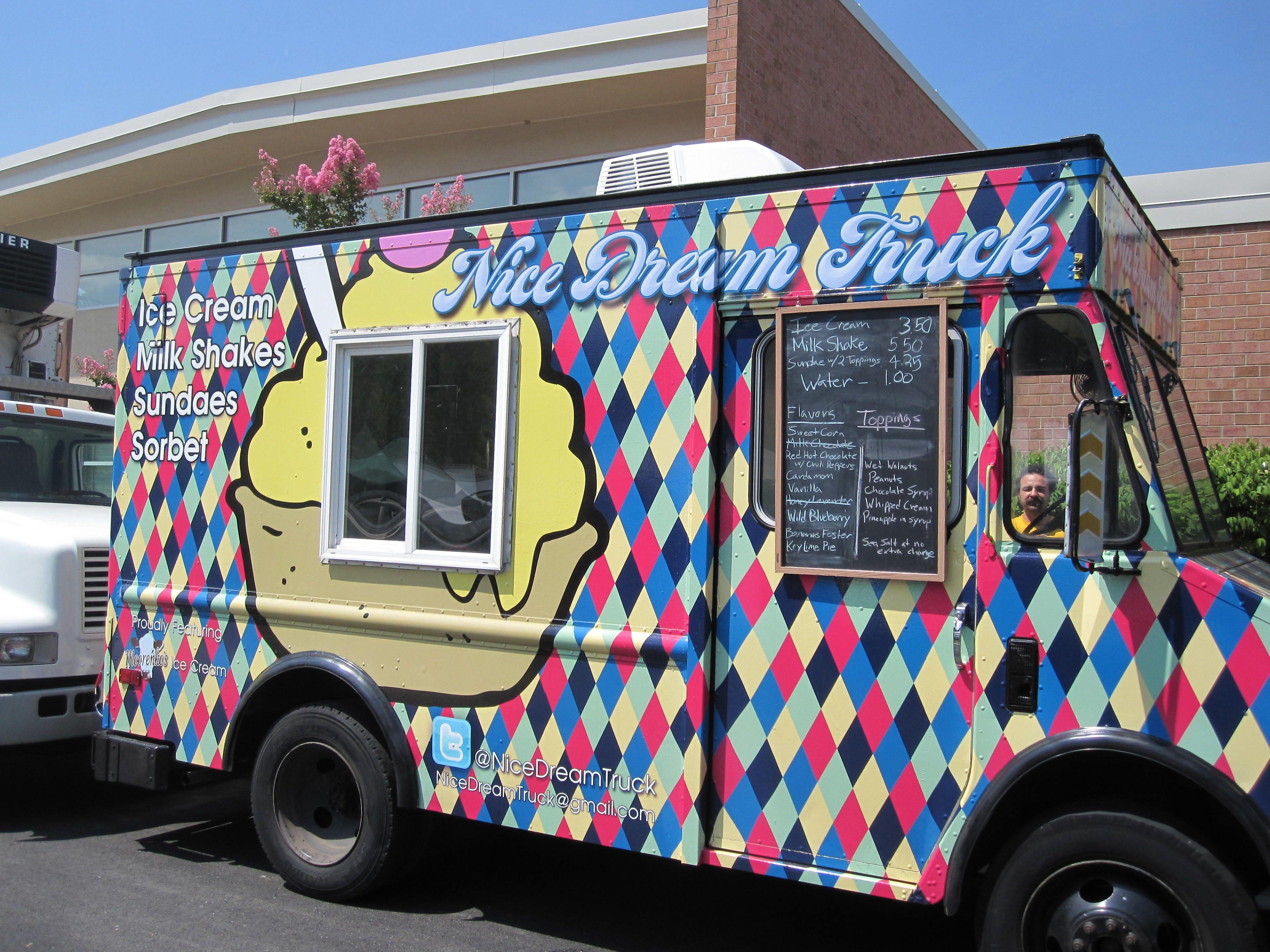 Moorenkos Ice Cream At Bethesda Market On Sundays Vendors