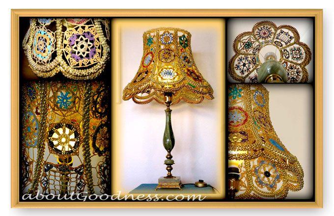 bohemian lampshade
