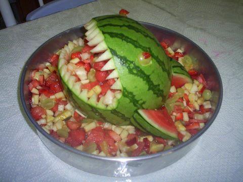 Salada de frutas com melancia (Kelly)