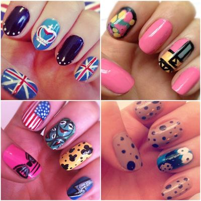 manichiuri dragute  yvero  beautiful nail designs