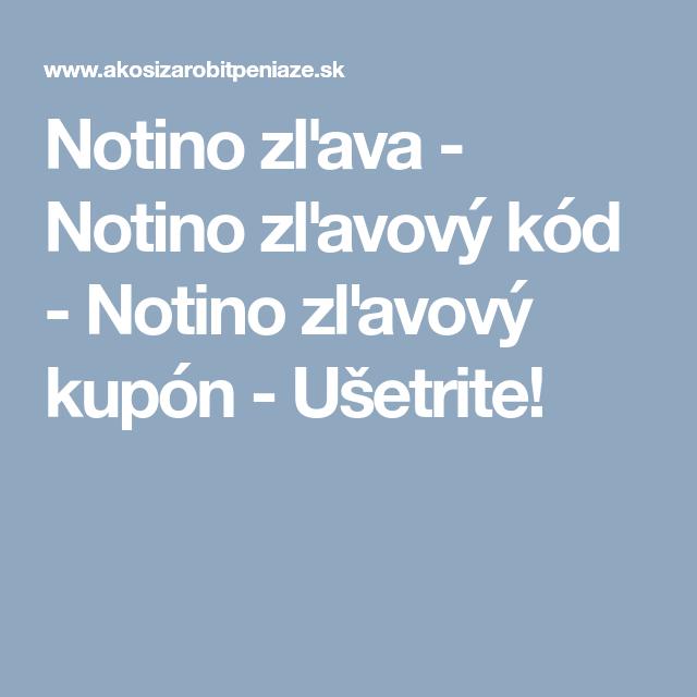 0d8c624b57 Notino zľava - Notino zľavový kód - Notino zľavový kupón - Ušetrite ...