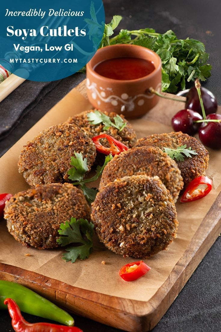 Protein Rich Snack Recipe Cutlets recipes, Indian beef