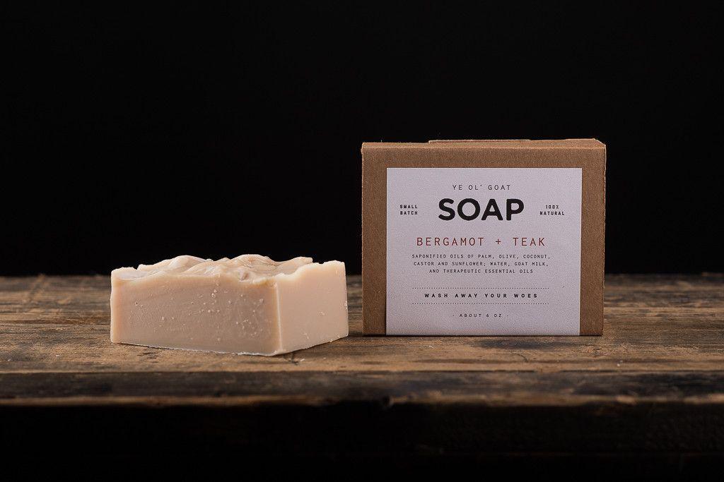 Ye Ol' Goat Soap | Bergamot + Teak | Manready Mercantile
