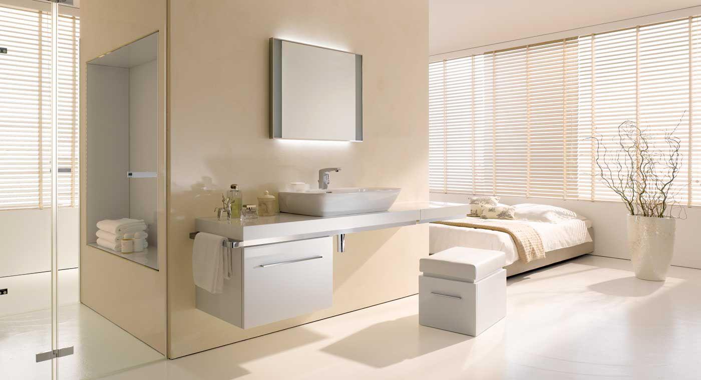 Sfeerfoto Silk Serie Van Keramag Mooie Kleuren Badezimmer