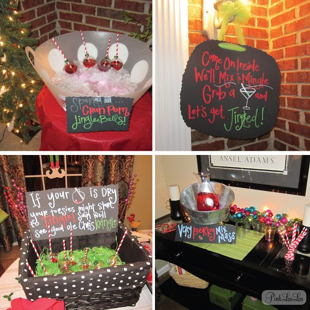 holiday party decor ideas Party Ideas Pinterest Christmas