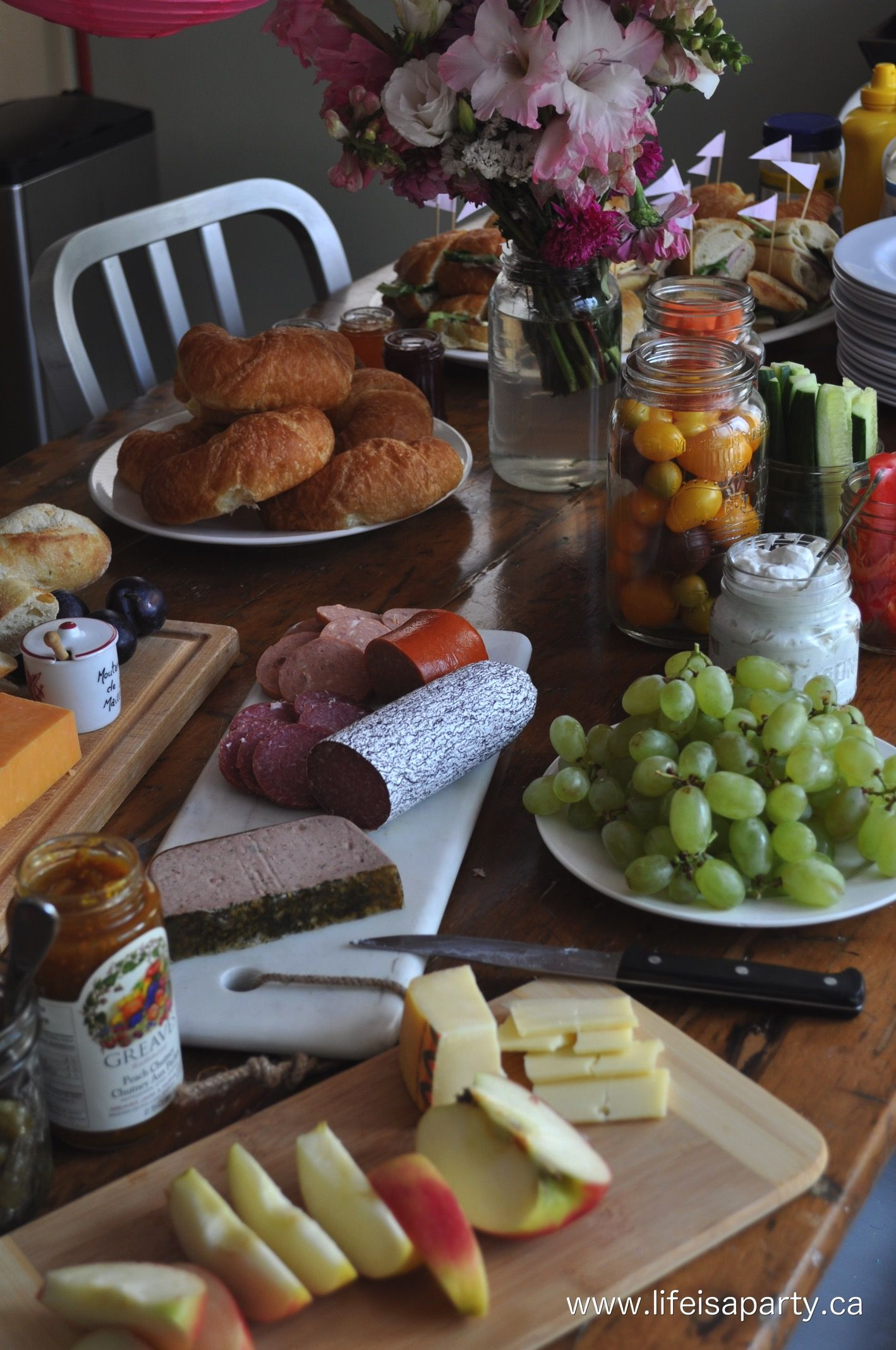 Favorite French Food Ideas For A Party
