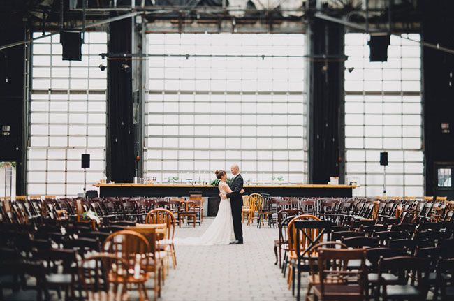 Ohio Warehouse Wedding Taylor Greg