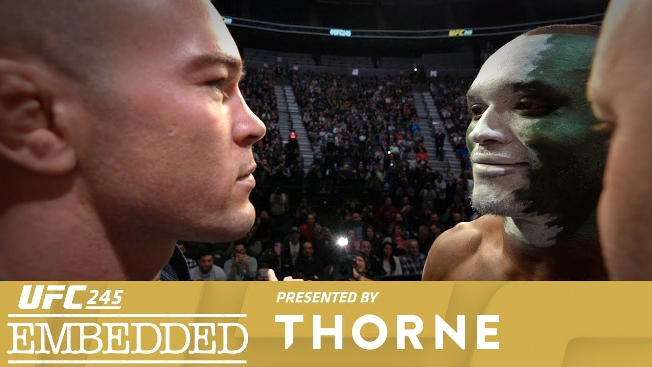 UFC 245 Embedded Vlog Series Episode 6 Ufc, The iron