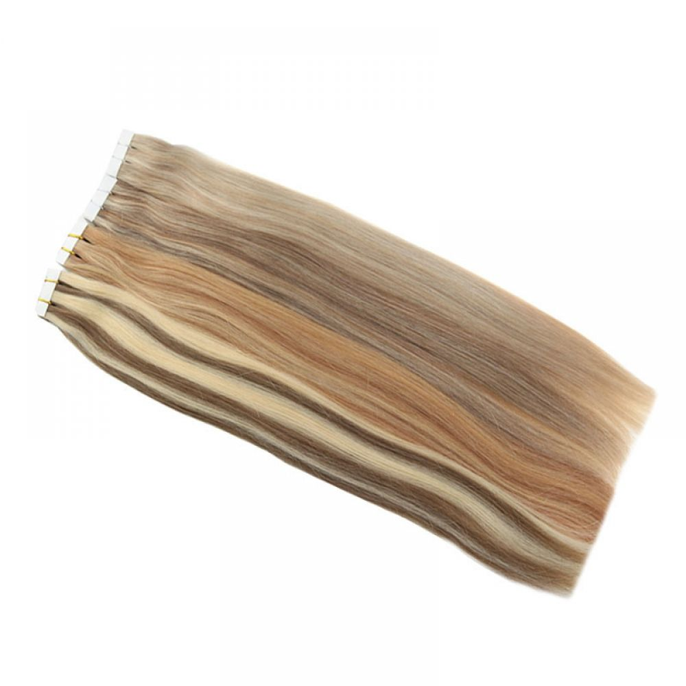 Straight Piano Colored Hair Tape #humanhairextensions