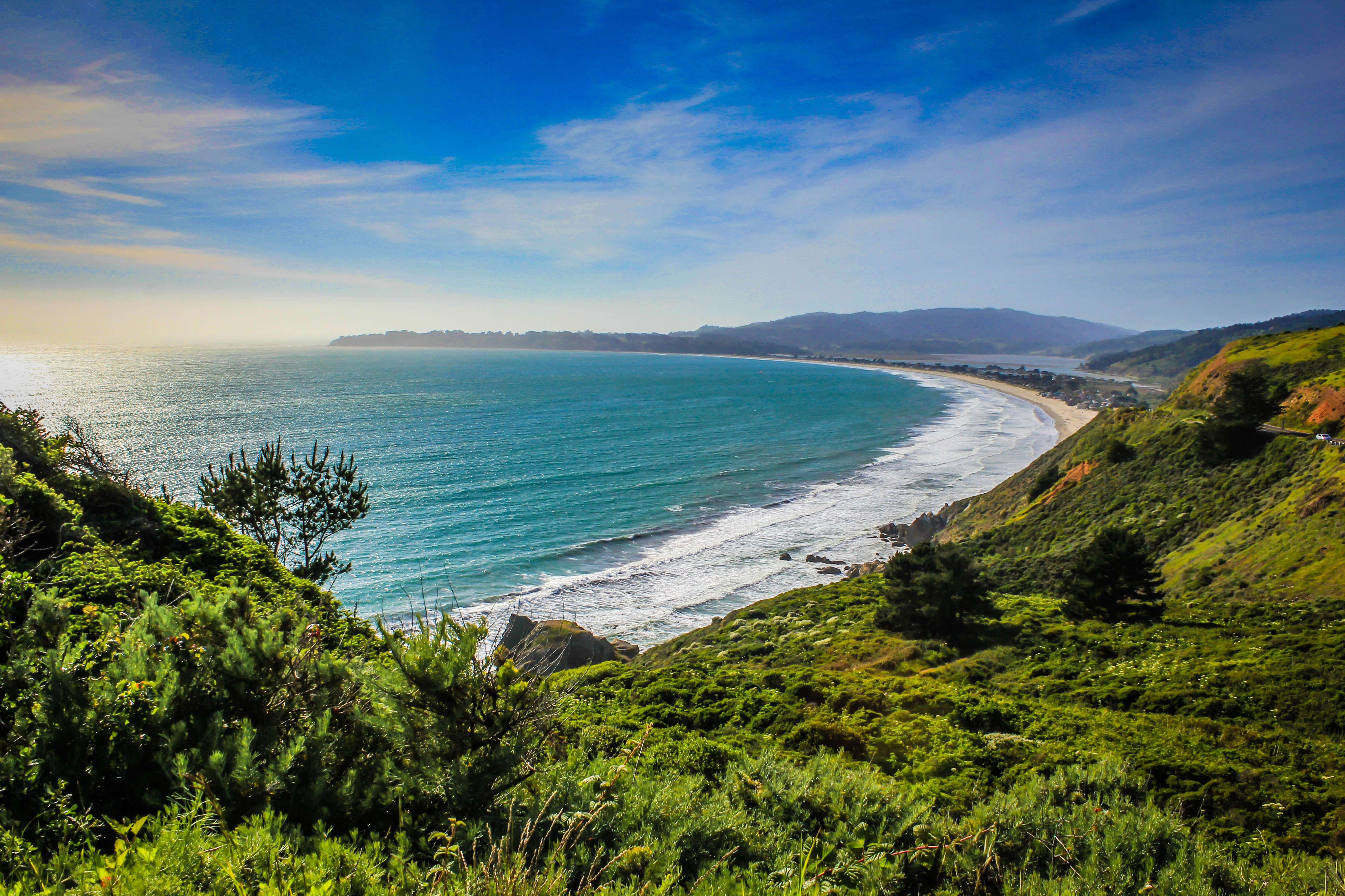 HD Wallpaper The ocean view from Marin County, California