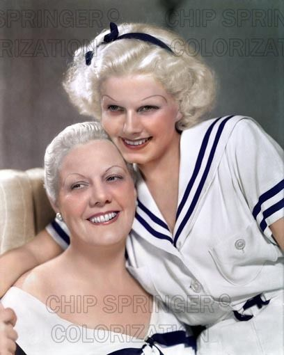 JEAN HARLOW & MOTHER 1934 5 DAYS! 8X10 BEAUTIFUL COLOR PHOTO BY CHIP SPRINGER. Please visit my Ebay Store at http://stores.ebay.com/x5dr/_i.html?rt=nc&LH_BIN=1 to see the current listings of your favorite Stars now in glorious color! Message me if you would like me to relist your favorites. Check out my New Youtube videos at https://www.youtube.com/channel/UCyX926rA5x4seARq5WC8_0w