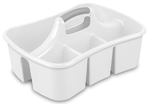 Sterilite 15888006 Divided Ultra Caddy, White