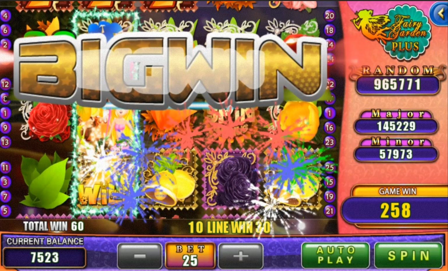 Saya Menang Big Win Dalam 918kiss Fairy Garden Plus Slot Game