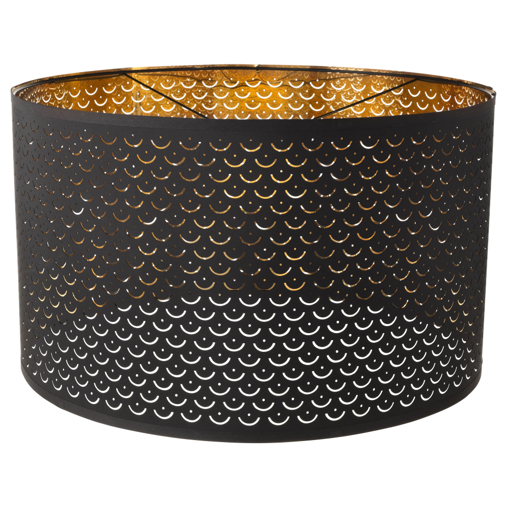 NYMÖ Lamp shade black, brass color 23