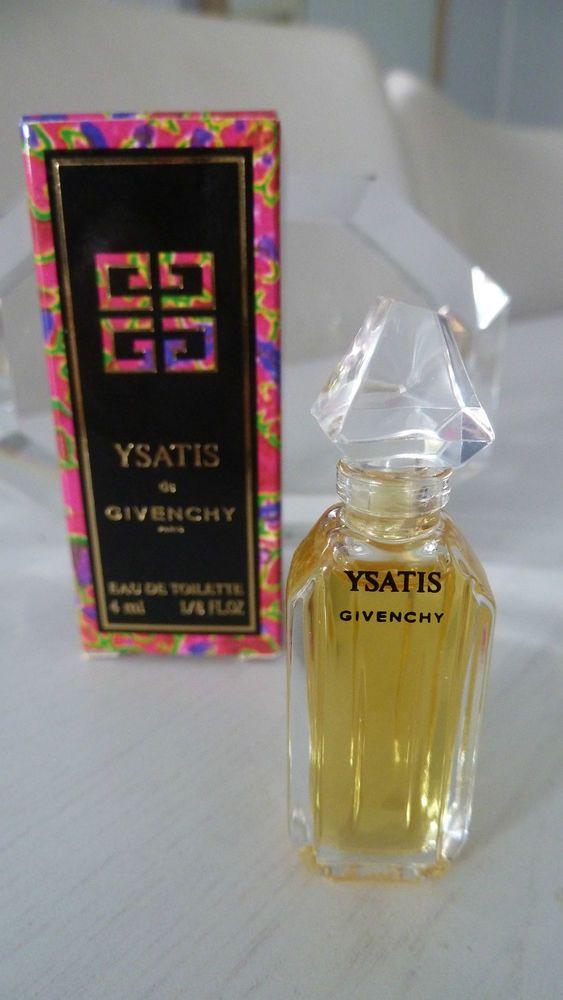 Ysatis Flacon Parfum Toilette Miniatur Toller Givenchy De Eau Duft XiuOPZk