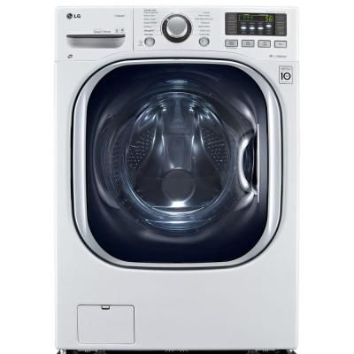 Lg Electronics 4 3 Cu Ft White All In One Washer And Electric Ventless Dryer Ventless Dryer Washer And Dryer Combination Washer Dryer