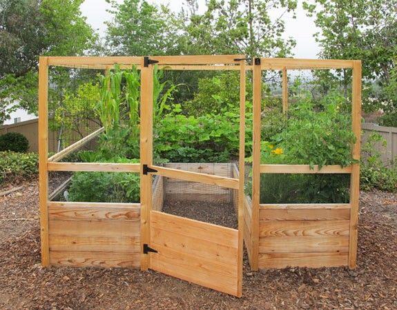 Deer Proof Cedar Complete Raised Garden Bed Kit 8 X 8