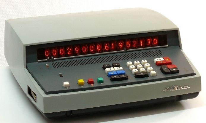 Transistorized calculators