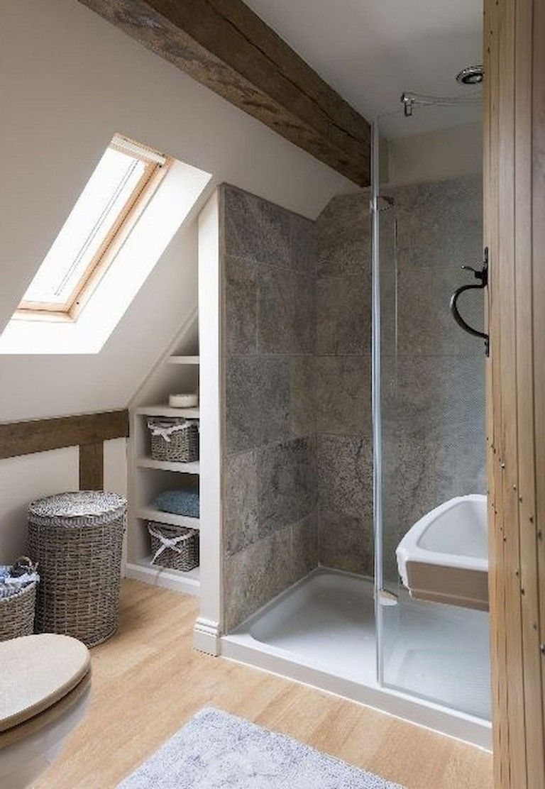 Photo of 28+ Amazing Genius Attic Bathroom Remodel Design Ideas#amazing #attic #bathroom …