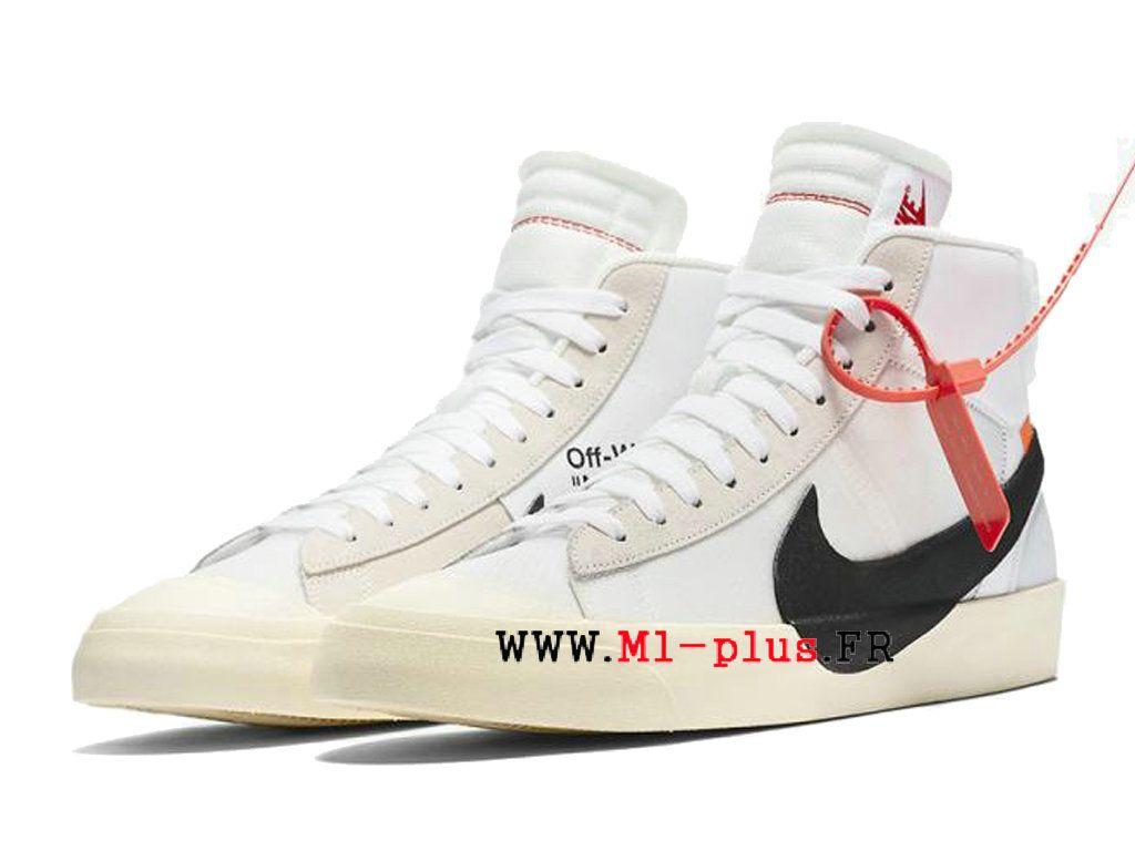 magasin en ligne 5fb9b e5a86 Off-White X Nike Blazer Mid Prix Chaussure de BasketBall Pas ...
