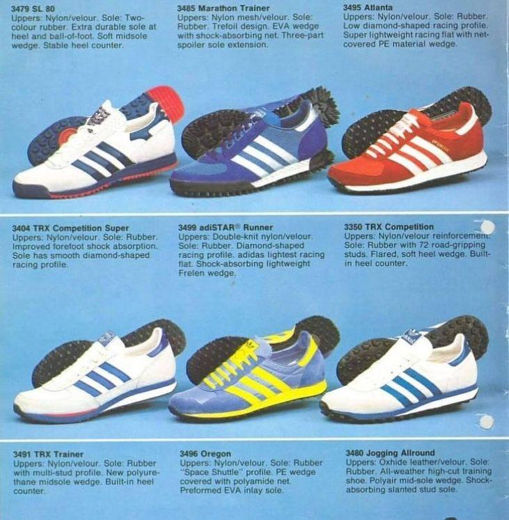 adidas Originals 1980s Marathon Running Shoes catalogue