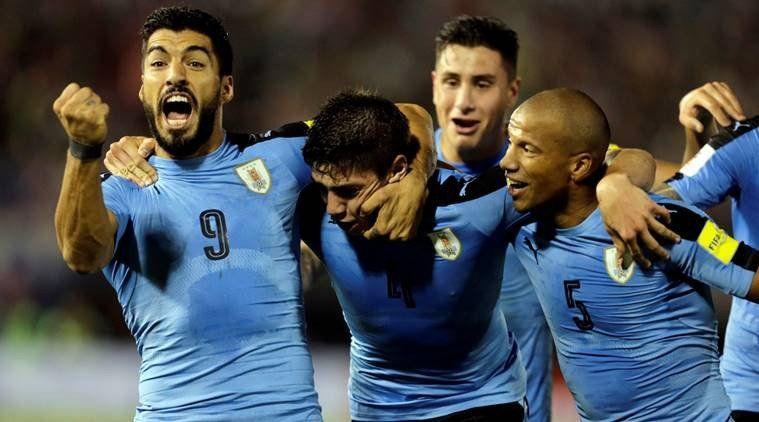 Uruguay Lolos Ke Babak 16 Besar