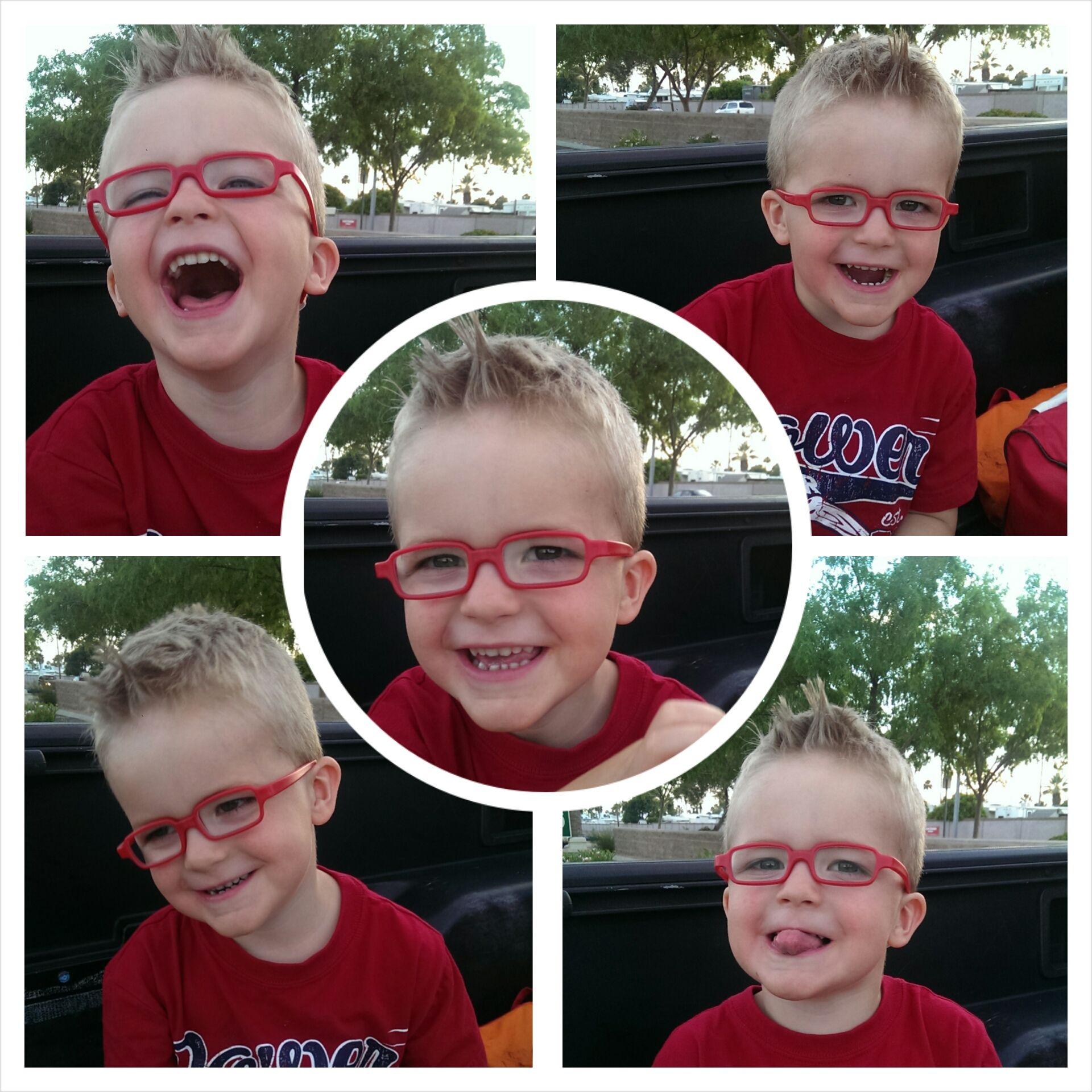 Carter was the lucky winner of Eye Power Kid\'s Wear\'s Ultimate ...