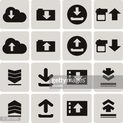 Data Upload Symbol Google Search Symbols Cards Branding