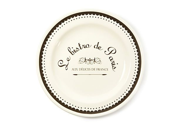 S 4 Dessert Plates On Stoneware Dessert Plates From Kiss That Frog