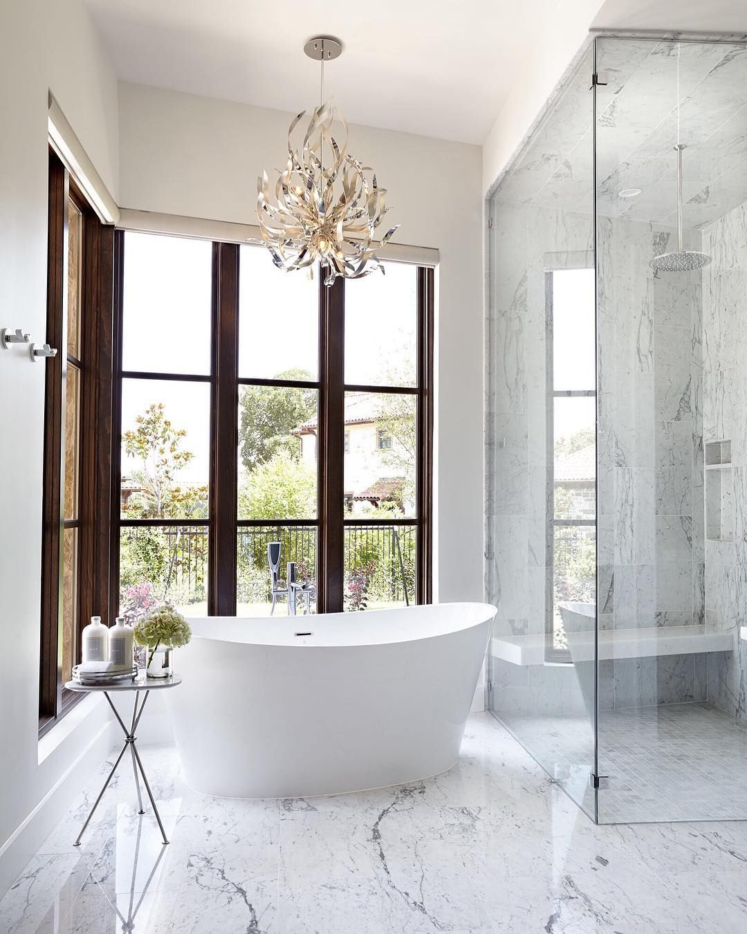 Simply Exquisite Corbett Graffiti Chandelier Brandlighting Bathroom Lighting Inspiration Marble Detail Bathroom Design