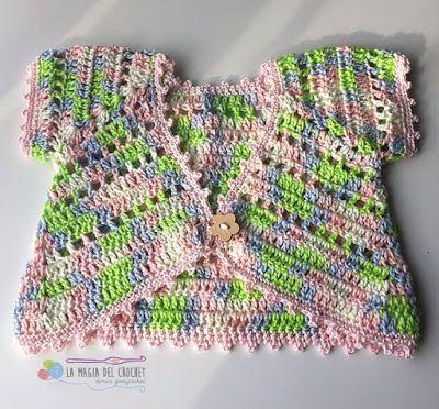 La Magia del Crochet: TORERAS O BOLEROS A CROCHET | BOLEROS Y ...