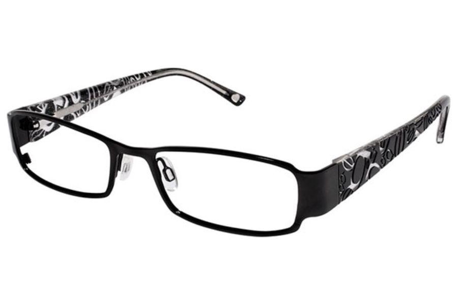 Bebe BB5012 Alotta Love Eyeglasses in 002 Jet | Eyeglasses ...
