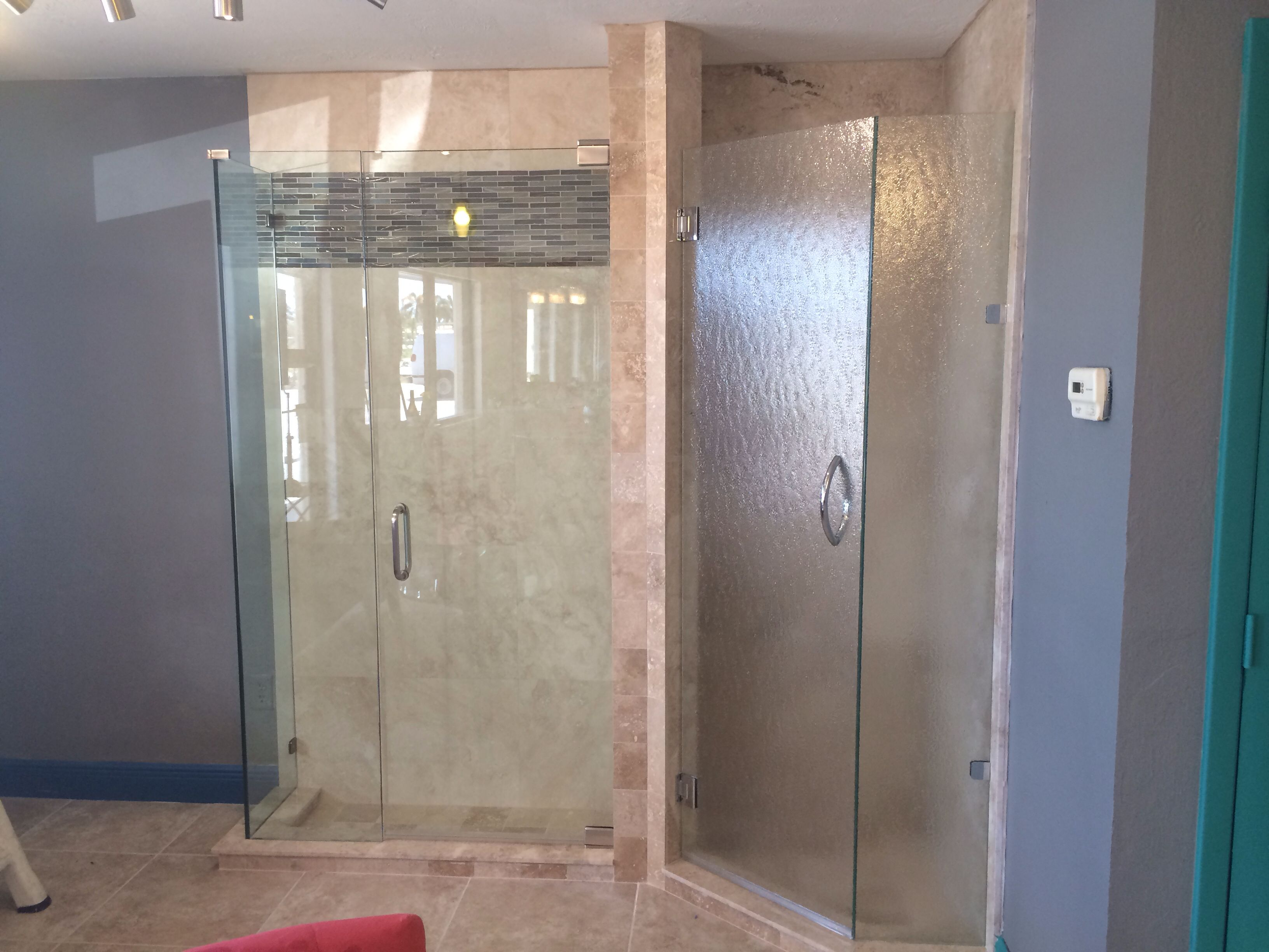 12 Thick Clear Glass Shower Enclosure And 38 Bubbles Glass On