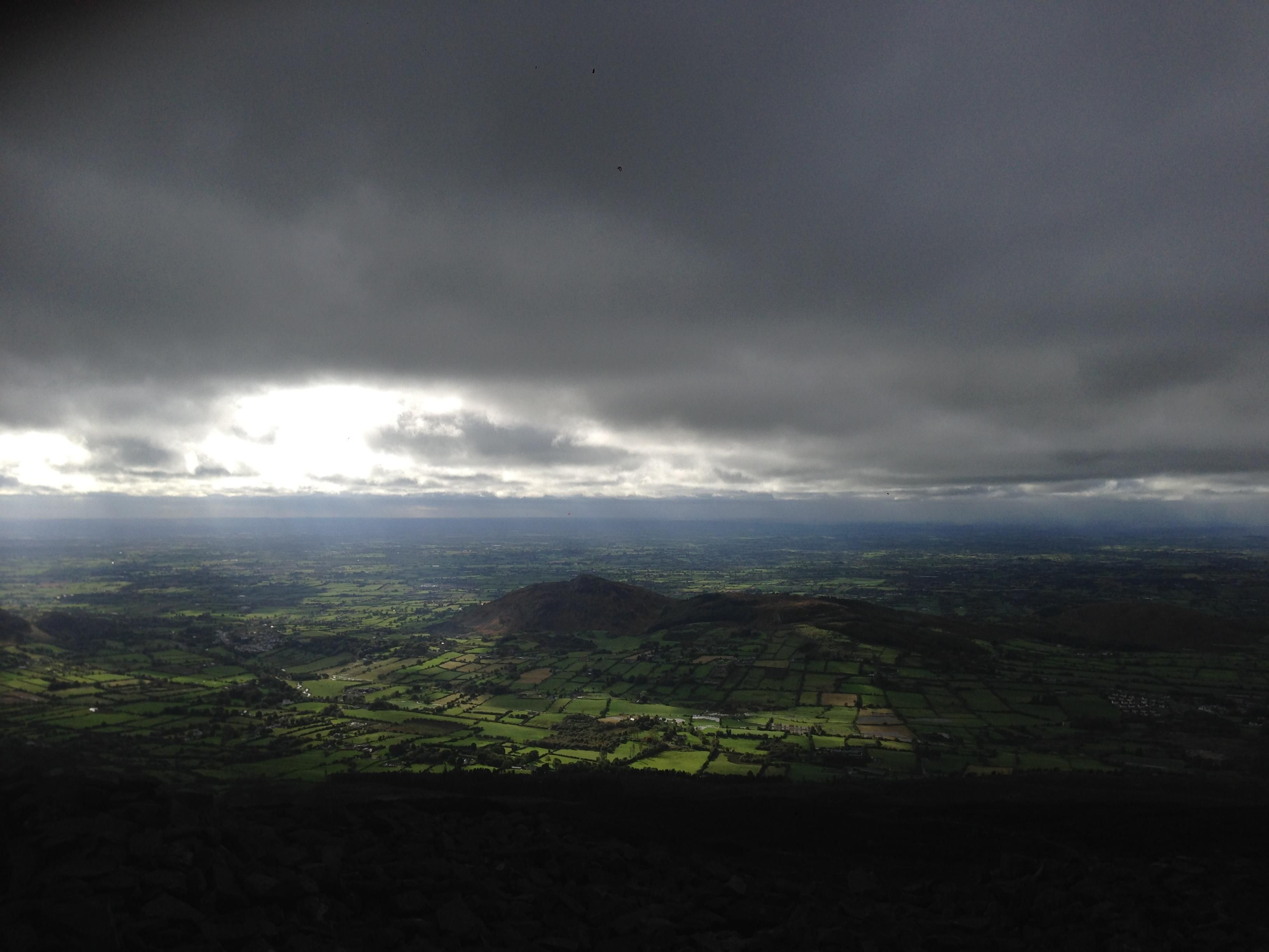 View From Top Of Slieve Gullion In The Mourne Mountains Northern Ireland Oc 3264x2448 Mountains Views Airplane View