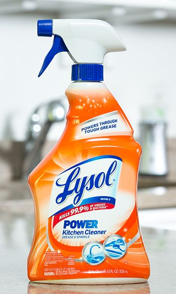 Find the perfect Lysol cleaning product and disinfectants