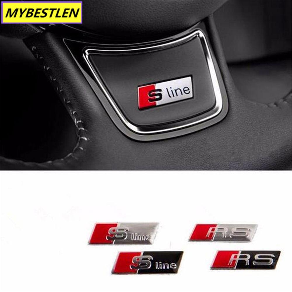 etc 1 PC de voiture insigne badge autocollant volant /> Universal /> 1 A-qualité /<