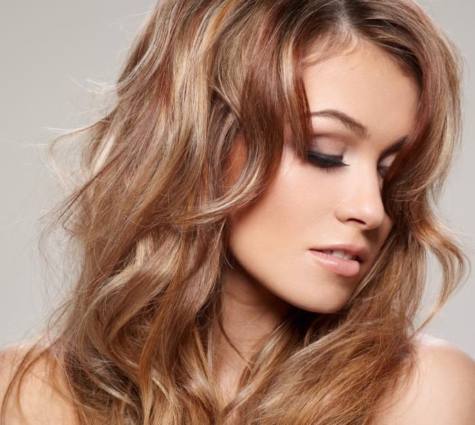 Light Red Highlights Beauty Pinterest Red Highlights And Hair