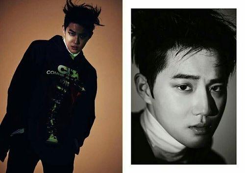 수호   Suho Monster image teaser EXO Baekhyun Chanyeol Chen