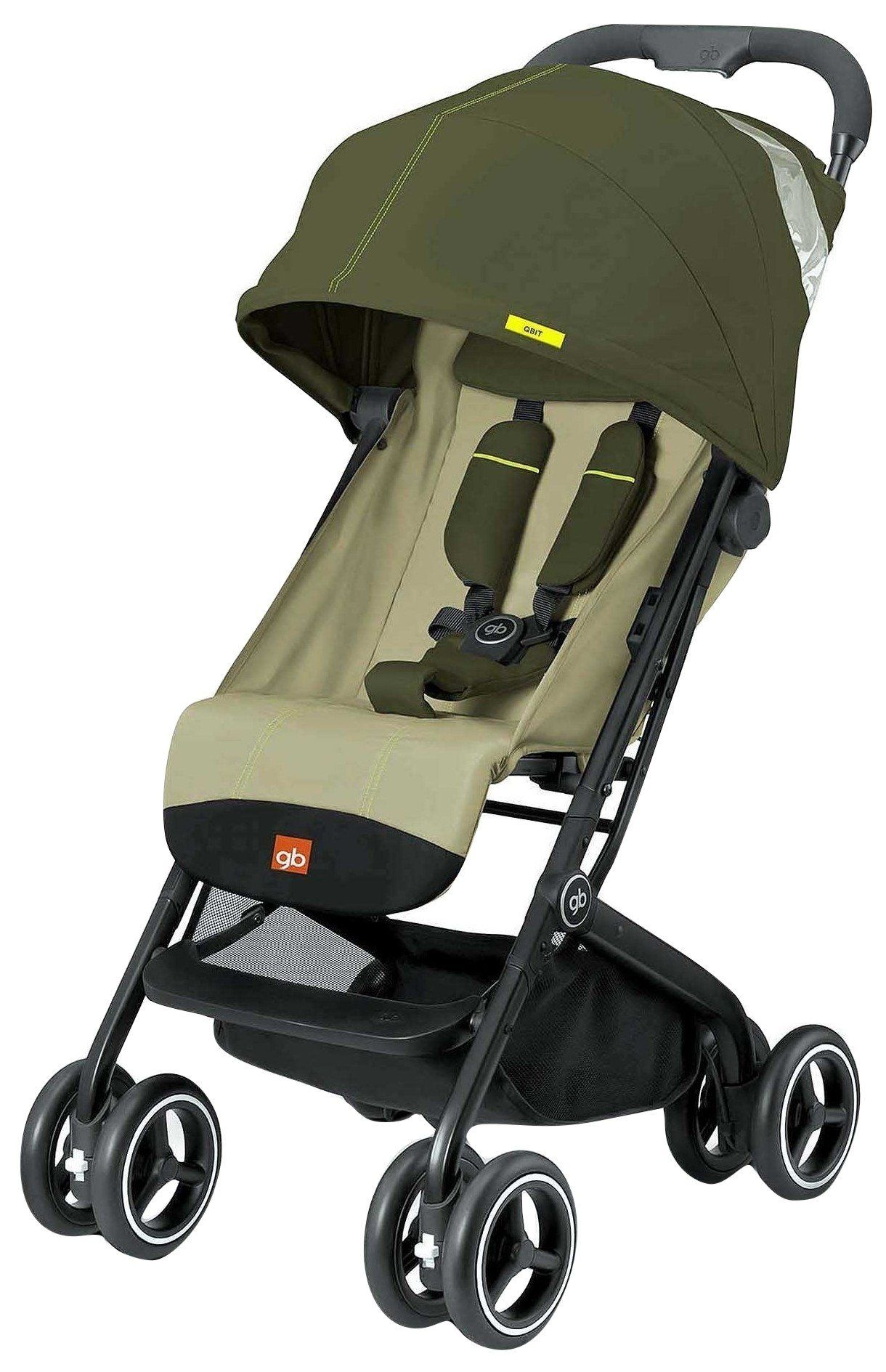 GB QBit Plus (Lizard Khaki) parents stroller baby pram