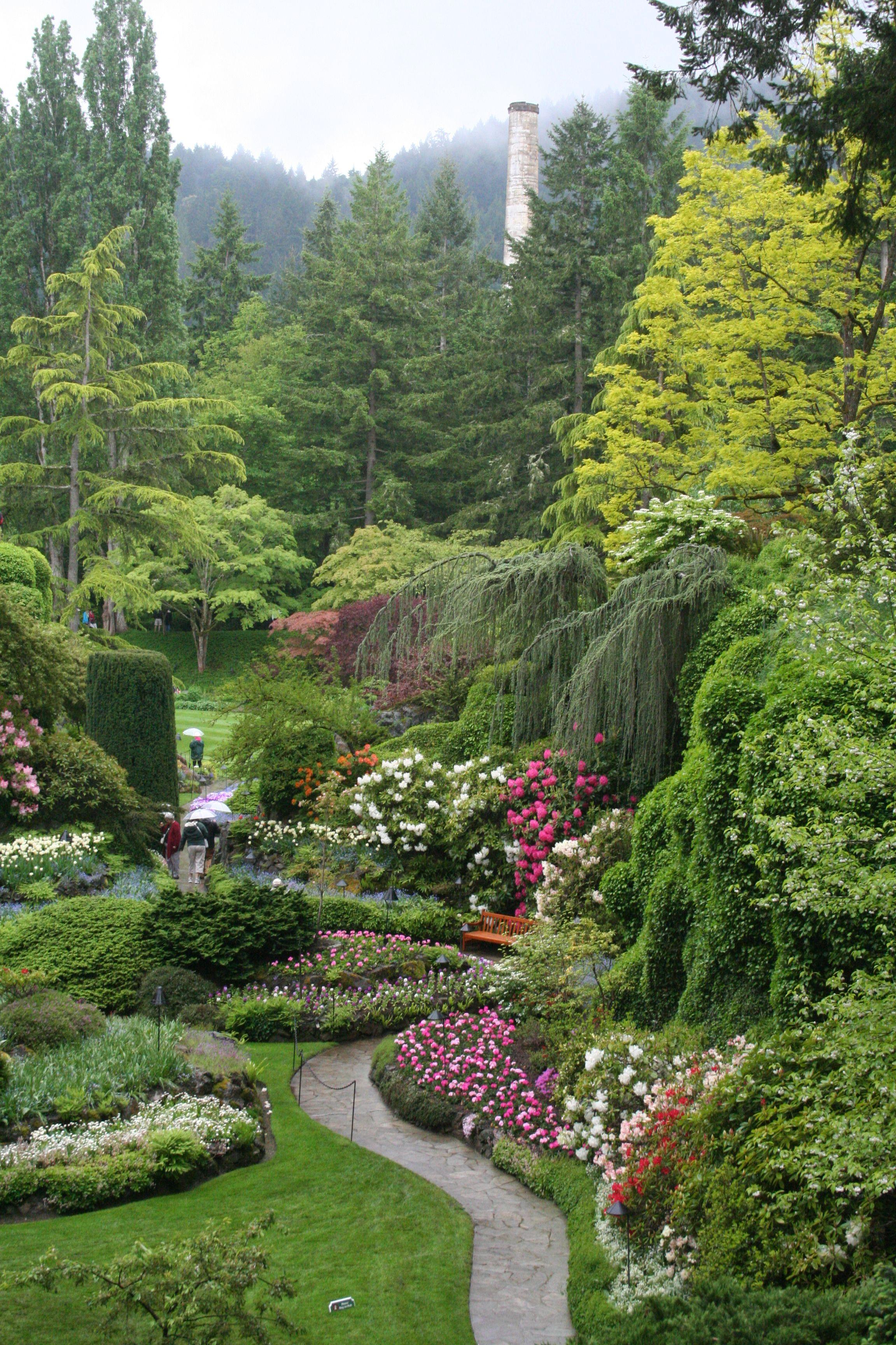 Buchart Gardens Canada by Patty McQuiston 2013 in