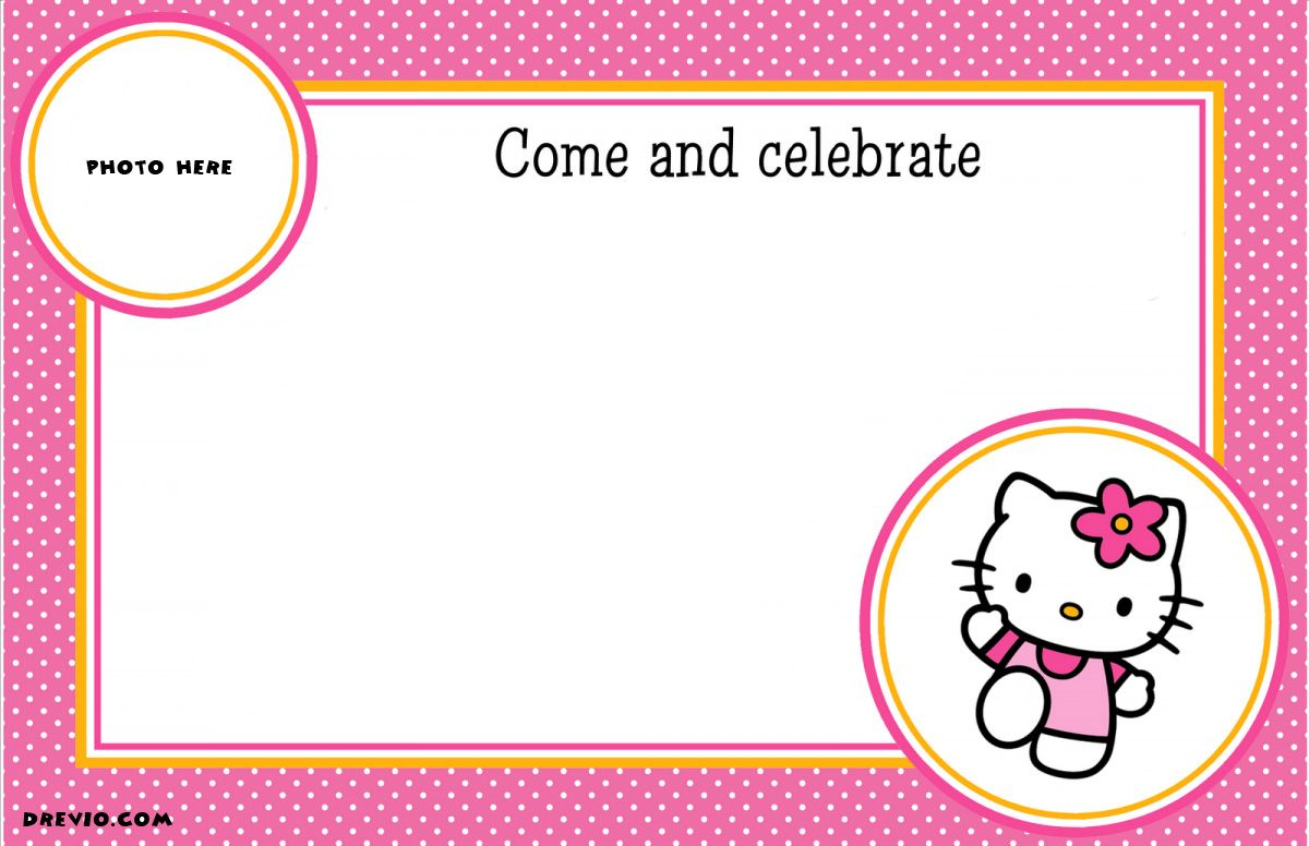 free printable hello kitty birthday