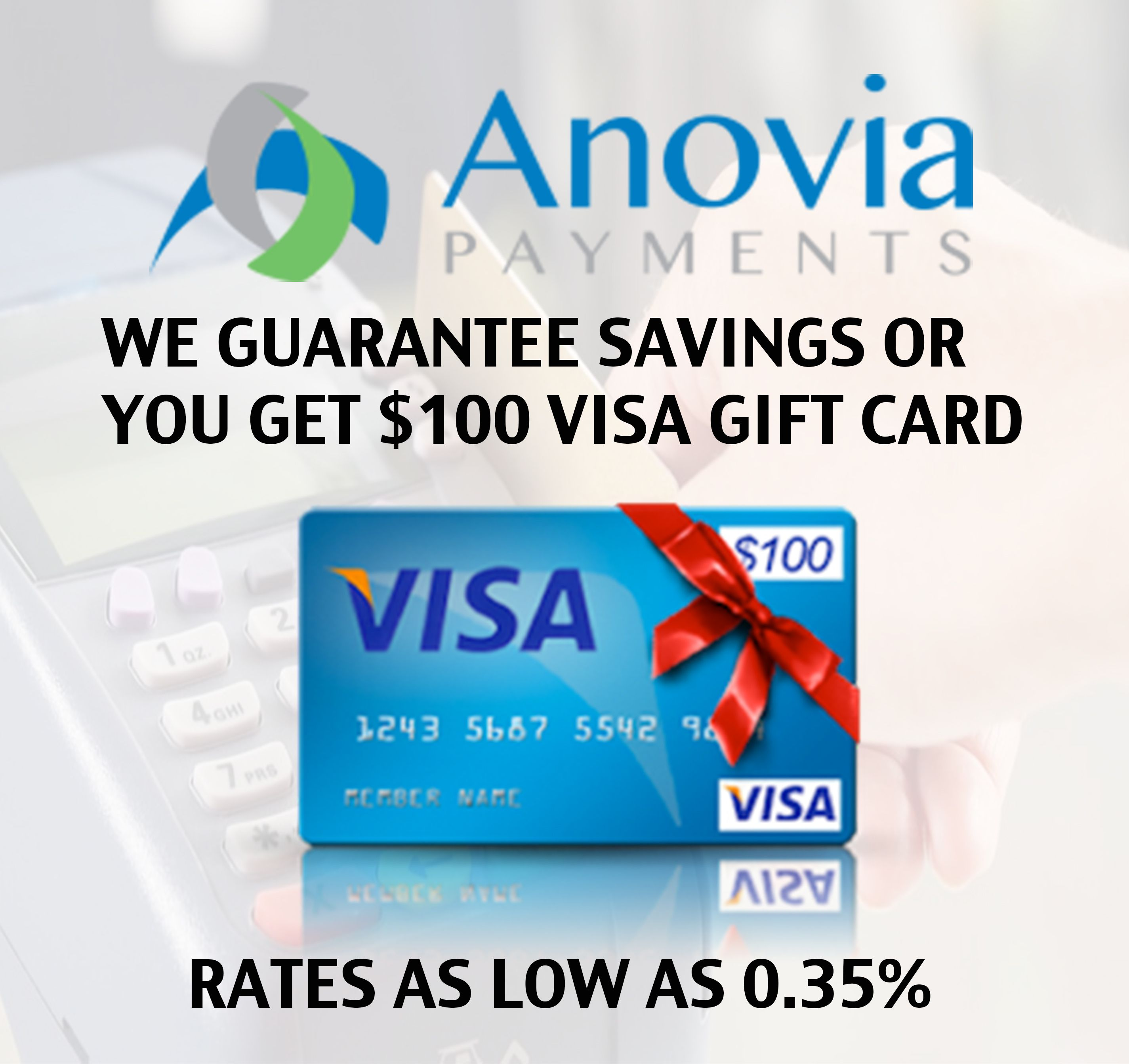 Cheapest Merchant Services Anovia Payment Processing Simple Affordable Payment Processing Designed To Save Y Merchant Services Visa Gift Card Package Deal