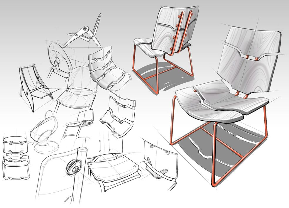 Product design sketches google search furniture for Furniture design sketches