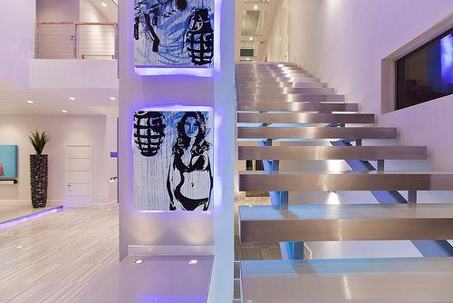 Modern Las Vegas Home 17 30 Art Staircase Dream Home Design Lighting Design Interior House Design