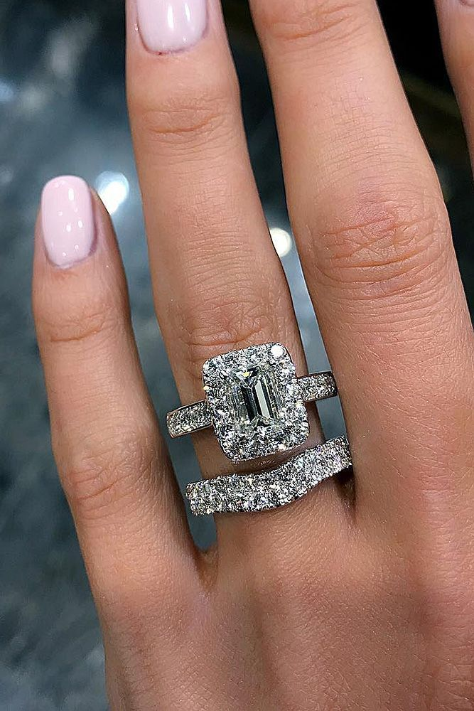 Removing Halo From Diamond Ring Settings