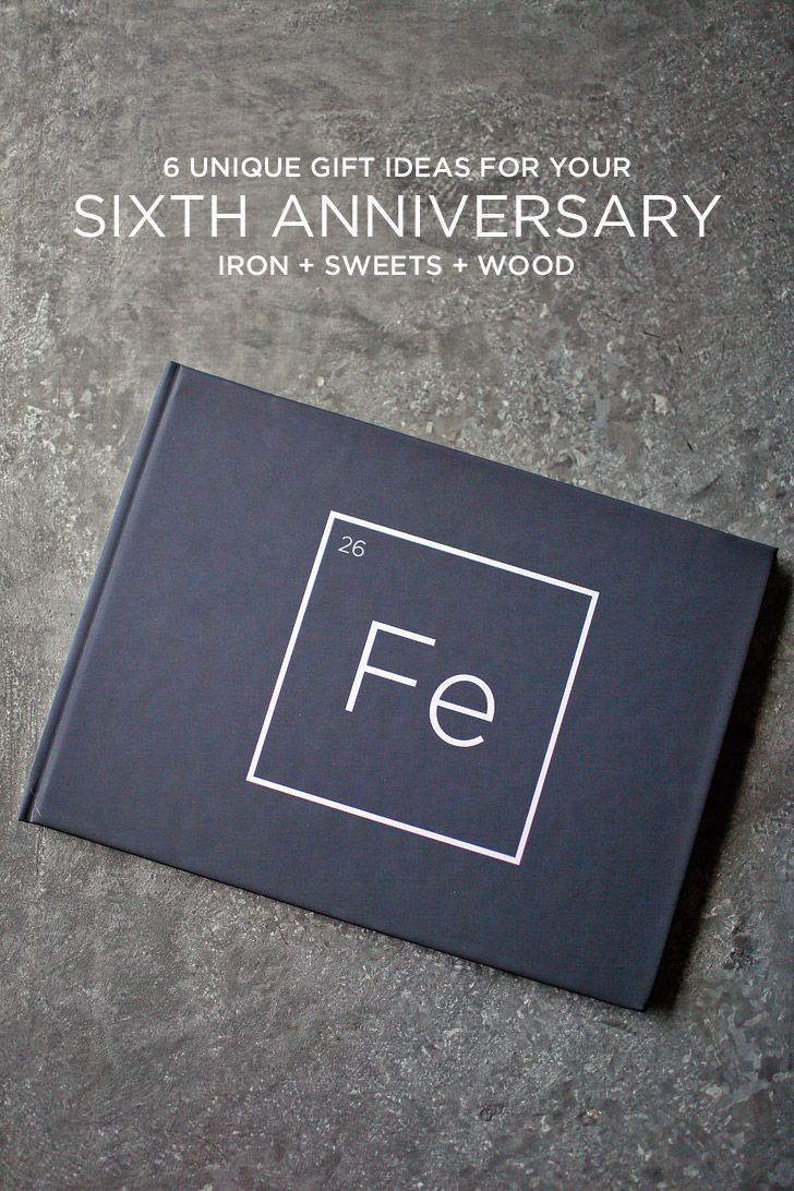 6 unique 6th year anniversary gift ideas iron sweets and